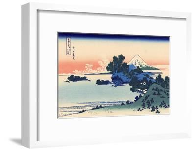 Shichiri Beach in Sagami-Katsushika Hokusai-Framed Giclee Print