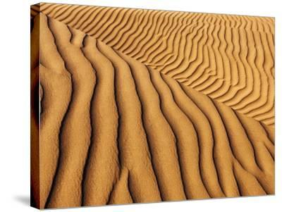 Dune structures-Frank Krahmer-Stretched Canvas Print