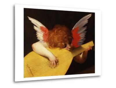 Musical Angel by Rosso Fiorentino--Metal Print