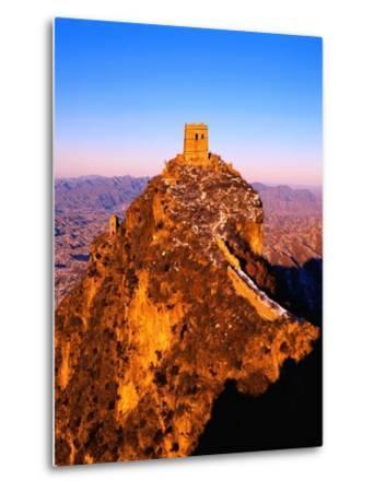 Tower at Great Wall of China-Liu Liqun-Metal Print