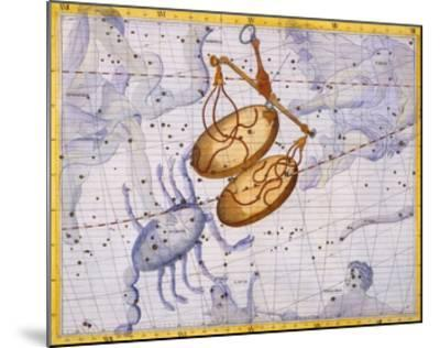 The Constellations of Libra and Scorpio by James Thornhill-Stapleton Collection-Mounted Giclee Print
