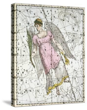 The Constellation Virgo from A Celestial Atlas-A^ Jamieson-Stretched Canvas Print
