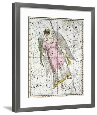 The Constellation Virgo from A Celestial Atlas-A^ Jamieson-Framed Giclee Print