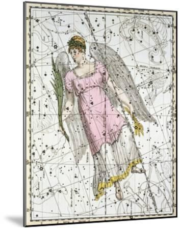 The Constellation Virgo from A Celestial Atlas-A^ Jamieson-Mounted Giclee Print