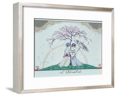 The Rainbow-Georges Barbier-Framed Giclee Print