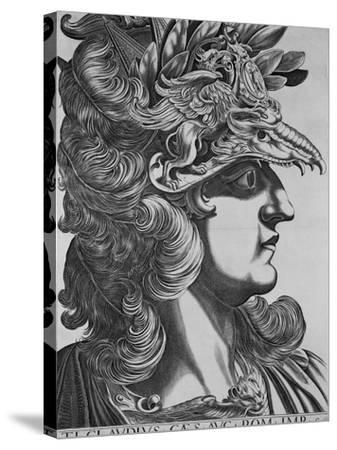 T. T. Claudius Caesar, Emperor of Rome-Antonius-Stretched Canvas Print