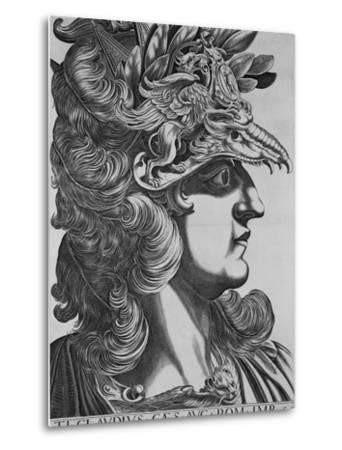 T. T. Claudius Caesar, Emperor of Rome-Antonius-Metal Print