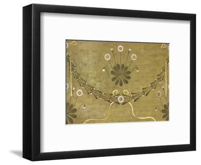 La Margarete, Wallpaper Design-William Morris-Framed Premium Giclee Print