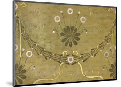 La Margarete, Wallpaper Design-William Morris-Mounted Premium Giclee Print