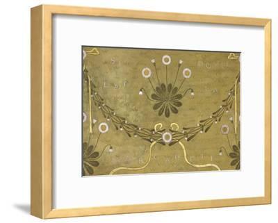 La Margarete, Wallpaper Design-William Morris-Framed Giclee Print