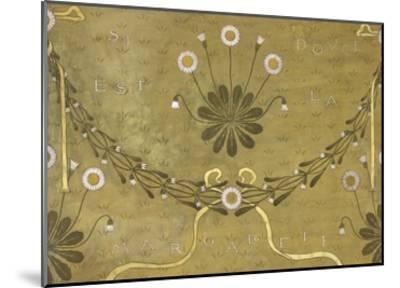 La Margarete, Wallpaper Design-William Morris-Mounted Giclee Print