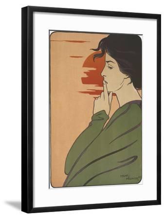 Hour of Silence-Henri Meunier-Framed Giclee Print