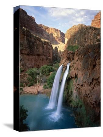 Havasu Falls-James Randklev-Stretched Canvas Print
