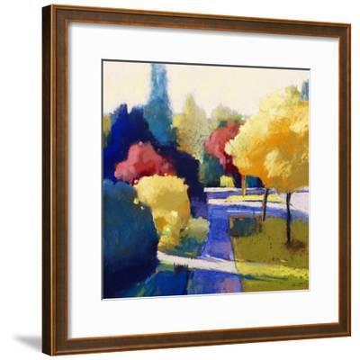 Heading Home-Lou Wall-Framed Giclee Print