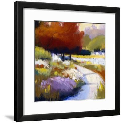 Roundabout-Lou Wall-Framed Giclee Print