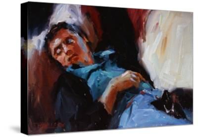 Sleepy Saturday-Pam Ingalls-Stretched Canvas Print
