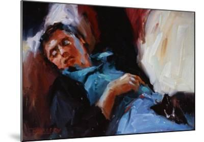 Sleepy Saturday-Pam Ingalls-Mounted Giclee Print