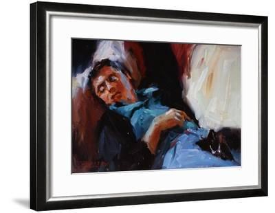 Sleepy Saturday-Pam Ingalls-Framed Giclee Print