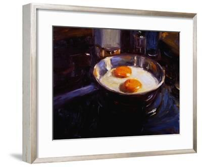 Eggs on the Gas Stove-Pam Ingalls-Framed Giclee Print