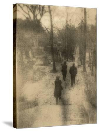 People Walking-Kevin Cruff-Stretched Canvas Print