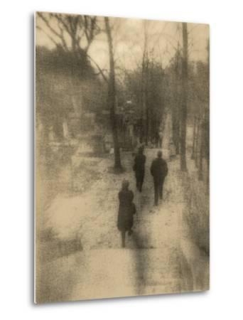 People Walking-Kevin Cruff-Metal Print