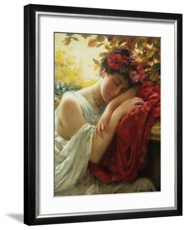 Autumn-Thomas Benjamin Kennington-Framed Giclee Print
