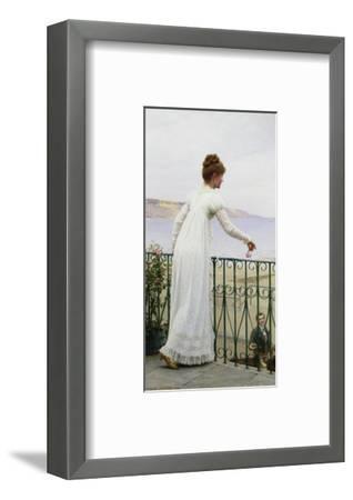 A Favour-Edmund Blair Leighton-Framed Premium Giclee Print