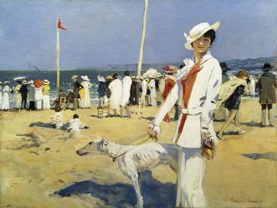 The Seaside-Francois Flameng-Giclee Print