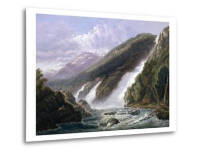The Russell Falls, Tasmania-John Haughton Forrest-Metal Print