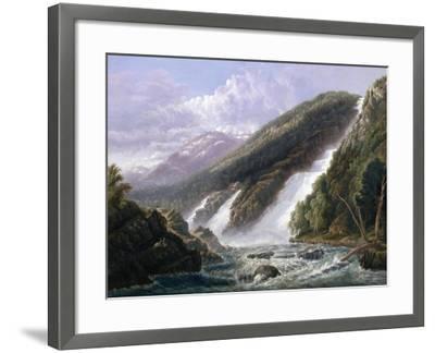 The Russell Falls, Tasmania-John Haughton Forrest-Framed Giclee Print