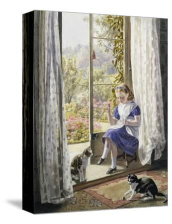 A Summer Afternoon-Helena J^ Maguire-Stretched Canvas Print