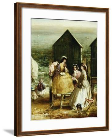 The Bathing Hut-Charles James Lewis-Framed Giclee Print