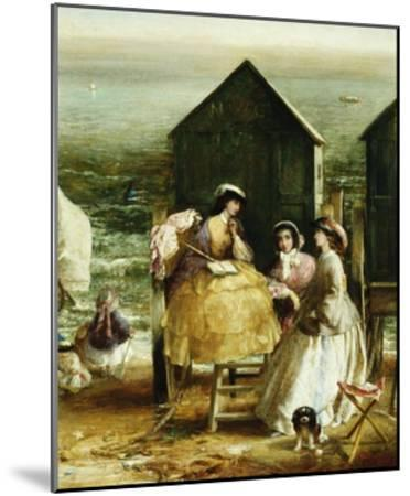 The Bathing Hut-Charles James Lewis-Mounted Giclee Print
