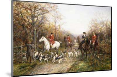 Going Through the Copse-Heywood Hardy-Mounted Giclee Print