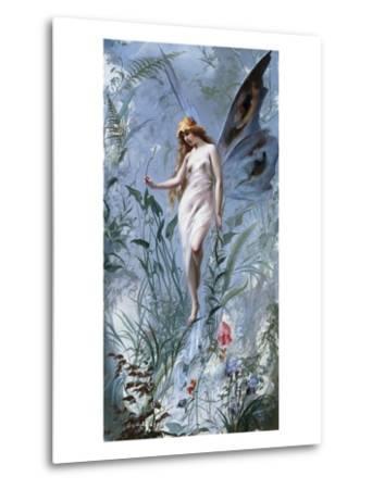 The Lily Fairy-Luis Ricardo Falero-Metal Print