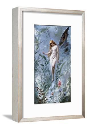 The Lily Fairy-Luis Ricardo Falero-Framed Giclee Print