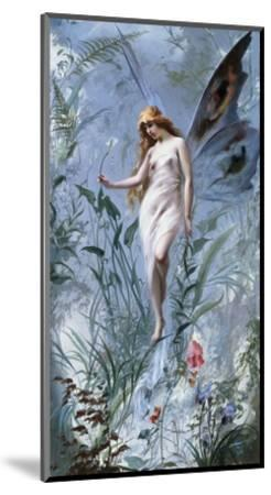 The Lily Fairy-Luis Ricardo Falero-Mounted Giclee Print