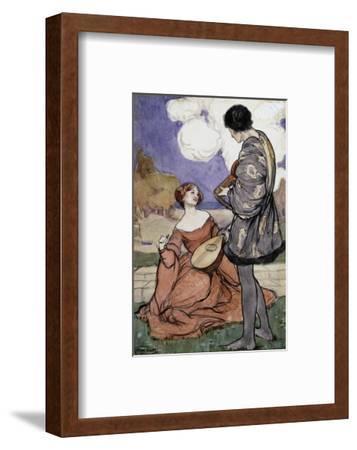 Rustic Music-Byam Shaw-Framed Premium Giclee Print
