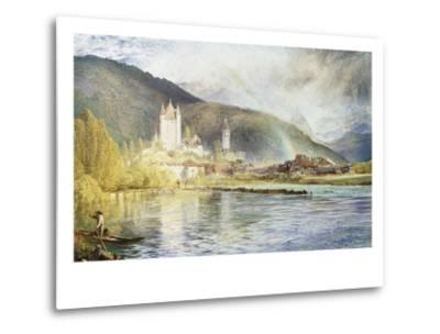 Thun, Switzerland-Alfred William Hunt-Metal Print
