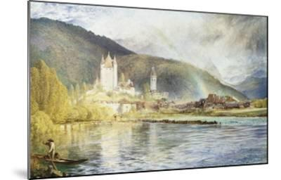 Thun, Switzerland-Alfred William Hunt-Mounted Giclee Print