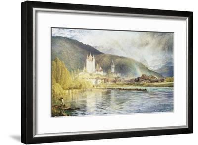 Thun, Switzerland-Alfred William Hunt-Framed Giclee Print