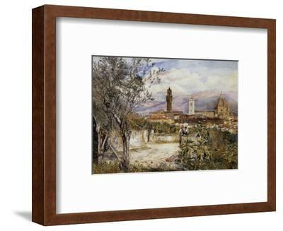 Florence, the Duomo from the Mozzi Garden-Henry Roderick Newman-Framed Premium Giclee Print