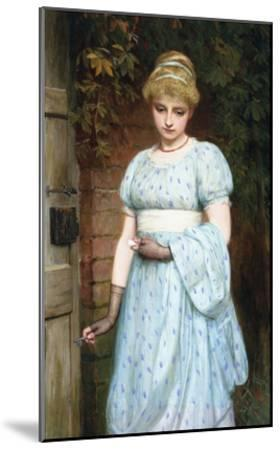At the Garden Gate-Charles Sillem Lidderdale-Mounted Premium Giclee Print