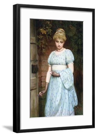 At the Garden Gate-Charles Sillem Lidderdale-Framed Giclee Print