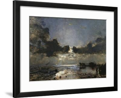 Dusk--Framed Giclee Print
