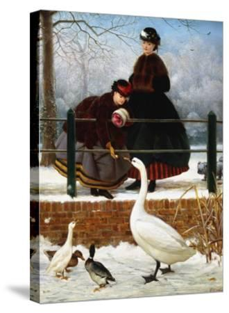 In the Park-George Dunlop Leslie-Stretched Canvas Print