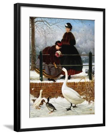 In the Park-George Dunlop Leslie-Framed Giclee Print