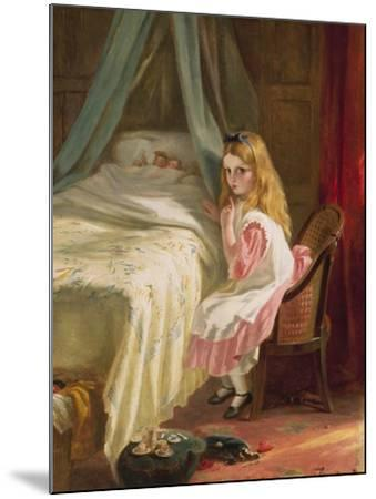 Shhhh!-George Bernard O'neill-Mounted Giclee Print