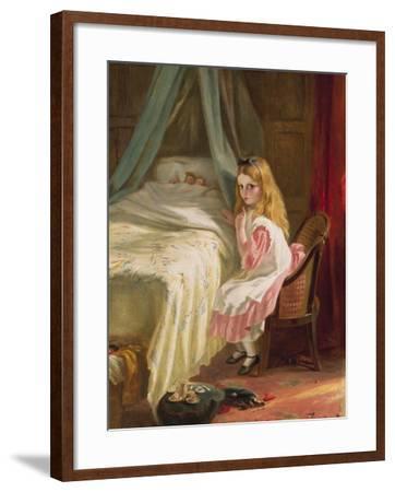 Shhhh!-George Bernard O'neill-Framed Giclee Print