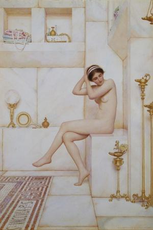 Binding the Fillet-George Lawrence Bulleid-Stretched Canvas Print